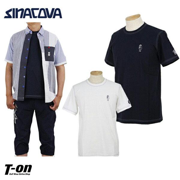 816ffb837a8935 シナコバ ポルトフィーノ SINACOVA PORTOFINO メンズ Tシャツ 半袖クルーネックTシャツ 丸首Tシャツ ストレッチ