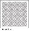 ●メール便● オリムパス 刺し子 花ふきん布パック 伝統柄 白 十字花刺し H-1016