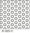 ●メール便● オリムパス 刺し子 花ふきん布パック 伝統柄 白 こんぺいとう H-1025