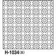 ●メール便● 刺し子 花ふきん布パック 白 菊の花 伝統柄 一目刺し オリムパス製絲 H-1034