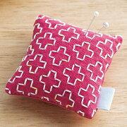 .送料無料ルシアンhidamariSASHIKOひだまり刺し子キット刺し子のピンクッションピンク98954刺しゅう伝統的刺繍技法