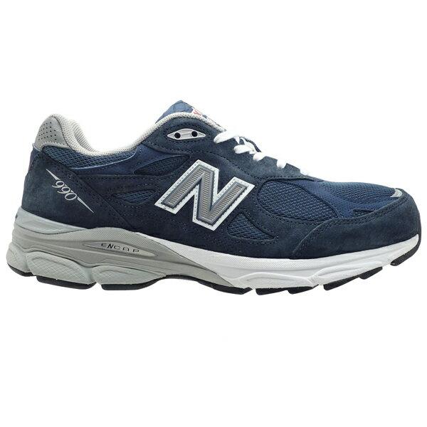 ニューバランス M990NV3 NEW BALANCE M990 ネイビー 990 990V3