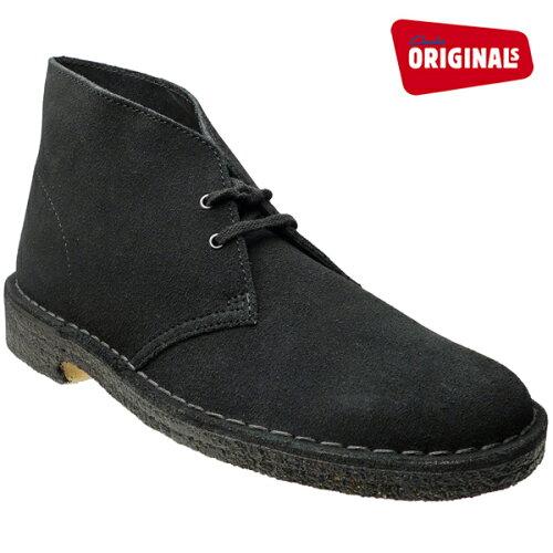 クラークス デザートブーツ ブラック スエード CLARKS DESERT BOOT 26107882(31691) BLACK SUEDE...