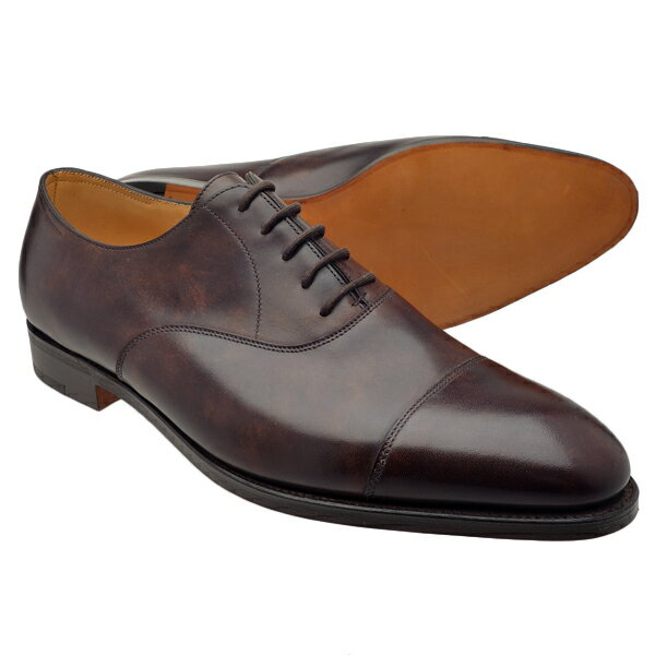 John Lobb Shoes >> 【楽天市場】JOHN LOBB ジョンロブ CITY 2 シティ2 レザーソール ストレートチップ DARK BROWN MUSEUM CALF (LAST 7000)【Fitting E ...