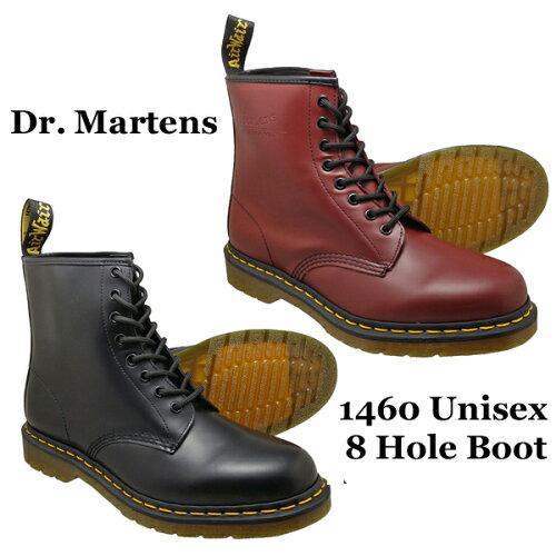 Dr.Martens ドクターマーチン 8ホールブーツ 1460 8 HOLE BOOT メンズ・レディース 全2色 ブラッ...