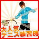 正しいフォームが身に付くテニス練習機の決定版!ウィニングショット テニス練習機「テニスガイ...