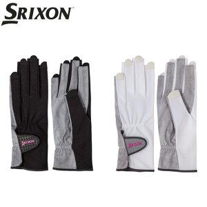 6eda95eced3f9d スリクソン(SRIXON)レディス グローブ ネイルスルータイプ(手のひら側 穴なし)(