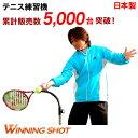 ウィニングショットテニス練習機「テニスガイド2」(練習器具 テニス用品 初心者 キッズ 上級者 フォーム...