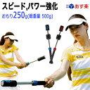 テニス素振り専用トレーニング器具 パワーストローク(パワーアップ・ダブルハンド用)おもり250g/総重量7...