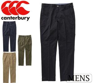 CANTERBURY(カンタベリー)ストレッチ チノ パンツ(メンズ) 長袖ズボン ロングパンツ 18年春夏 ra18171