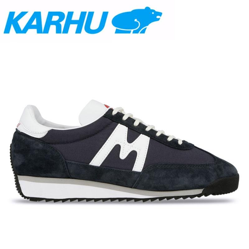 KARHU(カルフ)スニーカー レディース メンズ チャンピオンエアー シューズ 靴 ユニセックス 男女兼用 ナイトスカイ/ホワイト kh805010画像