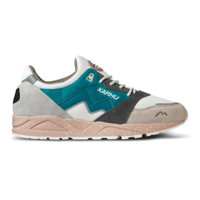 KARHU(カルフ)スニーカー レディース メンズ 靴 ARIA アリア WHITECAP GRAY/MOSAIC BLUE ホワイトキャップグレー/モザイクブルー kh803056画像