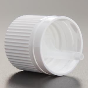 スタンダードタイプ白キャップ(ドロッパー付 全サイズ共通 遮光瓶用)100個セット(アルコール、エタノール対応) 30%割引バルク販売