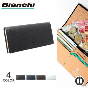 [公式] ビアンキ 二つ折り 長財布 メンズ Bianchi BIA-1005 本革 レザー 財布 札入れ