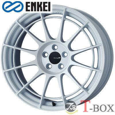 タイヤ・ホイール, ホイール 4ENKEI NT03RR 18inch 9.5J PCD:100 :5H :Matte Dark Gunmetallic Matte Sparkle Silver Glacial White