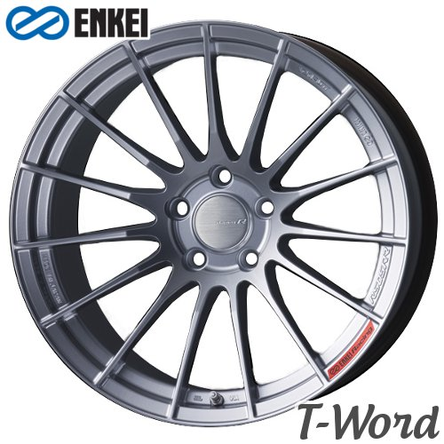 タイヤ・ホイール, ホイール 4ENKEI RS05RR 18inch 10.5J PCD:120 :5H : Sparkle Silver Import car () CENTER CAP TYPE:BMW