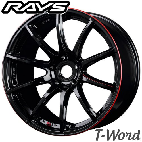 タイヤ・ホイール, ホイール 4RAYS gram LIGHTS 57Transcend REV LIMIT EDITION 18inch 8.0J PCD:120 :5H :BLJ 57 Import car ()