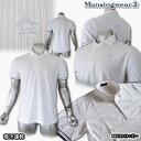 マンシングウェア(Munsingwear) 身頃ストライプスムースポロ 3