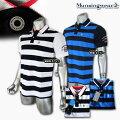 マンシングウェア(Munsingwear)sunscreenカノコボーダーポロ