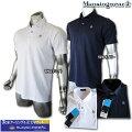 マンシングウェア(Munsingwear)sunscreenラベルモチーフジャガードポロ