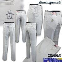 マンシングウェア(Munsingwear)Sunscreenドットシャンブレーパンツ