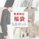 5点入り 福袋 レディース ファッション 福袋 洋服 カジュアル服 福袋 S M L XL 3L 福 ...