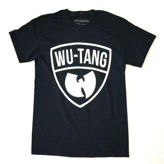 鎖頭T恤帶T恤Wu-Tang Clan烏舌頭·kurannyuvintejirogo T恤黑色保鮮紙HIPHOP印刷T恤限定T恤短袖T恤圓領T恤ROCK人T恤T恤