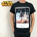 STAR WARS スター・ウォーズ Tシャツ メンズ ブラック 新たなる希望 エピソード4 映画Tシャツ
