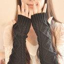 アームウォーマーアラン編みニット秋冬防寒グッズ【送料無料中】手袋・アームウォーマーロング