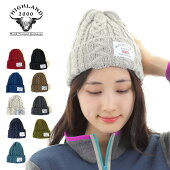HIGHLAND2000ハイランド2000ニット帽ケーブル編みニットワッチレディース帽子メンズ送料無料UK