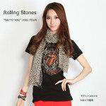"""【ロックTシャツ★バンドTシャツ】【RollingStones】""""TATTOYOU""""WORLDTOUR1981レディースTシャツ"""