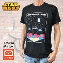 映画Tシャツ STAR WARS スター・ウォーズ Tシャツ 帝国の逆襲 ダース・ベーダ? 逆輸入 日本語版 ブラック