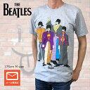The Beatles ビートルズ Tシャツ Yellow Submarine イエローサブマリン メンバーイラスト グレー グレーTシャツ ROCK メンズTシャツ Tシャツ ロックTシャツ バンドTシャツ