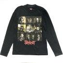 ロックTシャツバンドTシャツスリップノットSlipknotブロックレッドロゴメタルハードロックブラックTシャツ
