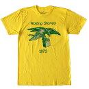 ロックTシャツバンドTシャツRollingStonesローリング・ストーンズ1975ツアーTシャツヴィンテージタイプブルースストーンズTシャツ