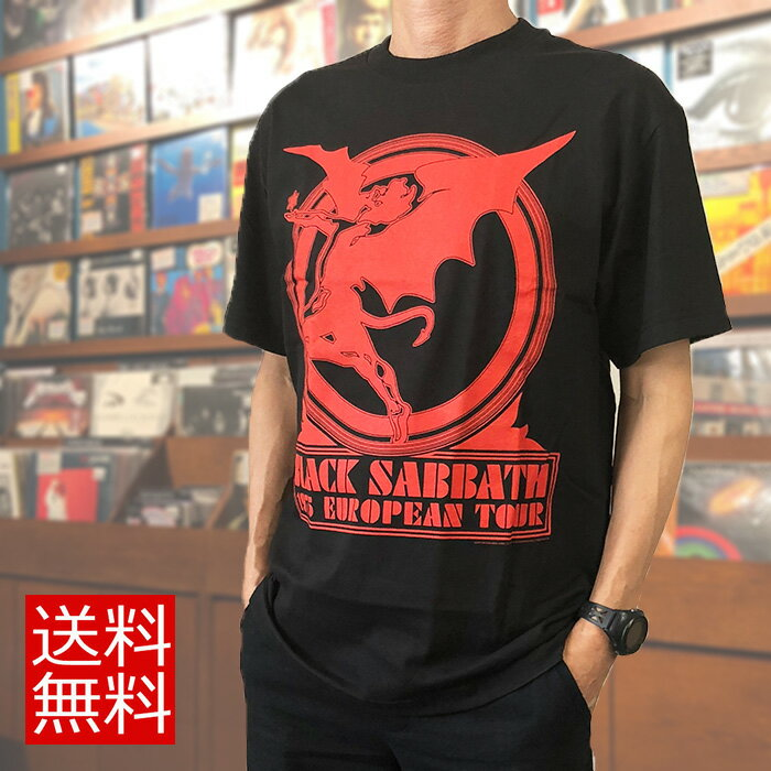 トップス, Tシャツ・カットソー Black Sabbath T 1975 EUROPEAN TOUR 70 T T
