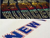 ラインストーンアイロンホットフィックス布用熱圧着hotfixデコTシャツSS16〜100個入りオリジナルデザインDIY