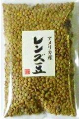 お料理しやすくて若い女性に大人気の豆です。豆力 豆専門店のレンズ豆(皮つき) 250g【3袋ま...
