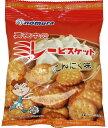 食べもんぢから。で買える「真夜中のミレービスケット(にんにく味) 70g  【野村煎豆加工店 高知 お菓子 駄菓子 やっぱりまじめ】」の画像です。価格は100円になります。