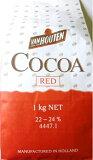 【宅配便送料無料】 バンホーテン ココアパウダー 1kg   【Van Houten カカオパウダー レッド】