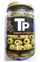 世界美食探究 スペイン産 おつまみ グリーンオリーブ 340g 【オリーブの実 緑】