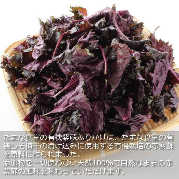 竹内農園たまな食堂『たまな食堂の有機紫蘇ふりかけ』