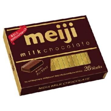 [meiji]ミルクチョコレートBOX(26枚)×6箱