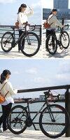 【送料無料54%OFF】ロードバイク700C自転車DEEPERロードバイクDE-3048700×28Cシマノ21段変速480mmLEDライト・スタンド標準装備迫力の40mmリム自転車【】