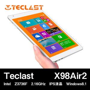 9.7インチ Teclast X98 Air2 Intel Z3736F クアッドコア(2.16GHz) IPS液晶 BT搭載 Windows8.1Windowsタブ/ウインドウズタブレット PC 本体