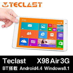 【Teclast X98 Air 3G DualOS 64GB Intel Z3736F クアッドコア(2.16GHz) IPS液晶 BT搭載】9.7イ...