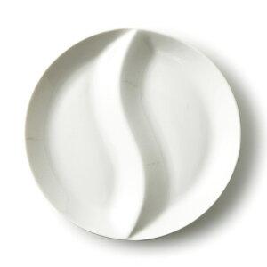 大サイズ いるか二つ仕切りランチプレート アウトレット含む 日本製 磁器 お子様ランチプレート キッズプレート 子供 白い食器 食器 白 2つ仕切り ランチプレート おしゃれ