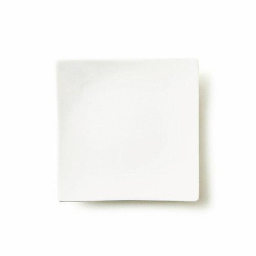 ALPHA アルファ 19cm 正角皿(アウトレット含む)日本製 磁器 白い食器 取り皿 食器 白 角皿 スクエア プレート 業務用食器 おしゃれ 四角