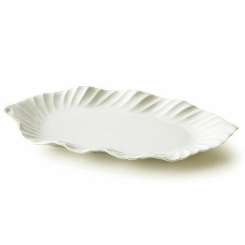 アジアン リーフディッシュ(アウトレット含む)日本製 磁器 ランチプレート アジアン食器 白い食器 おしゃれ 食器 白 夏
