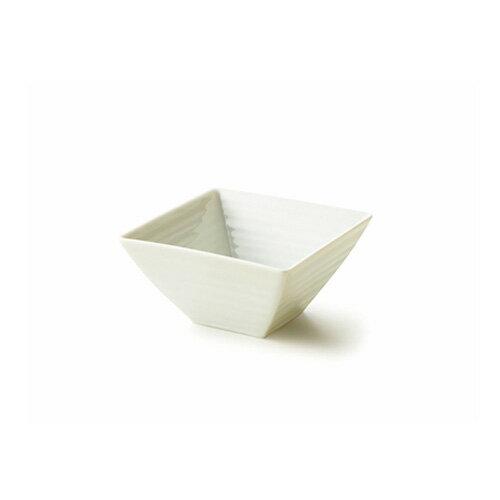 【スーパー アウトレット】NN 12cm スクエアボール 日本製 磁器 白い食器 角鉢 中鉢 マルチボウル 業務用食器 食器 おしゃれ 白【HL_NEW_18】